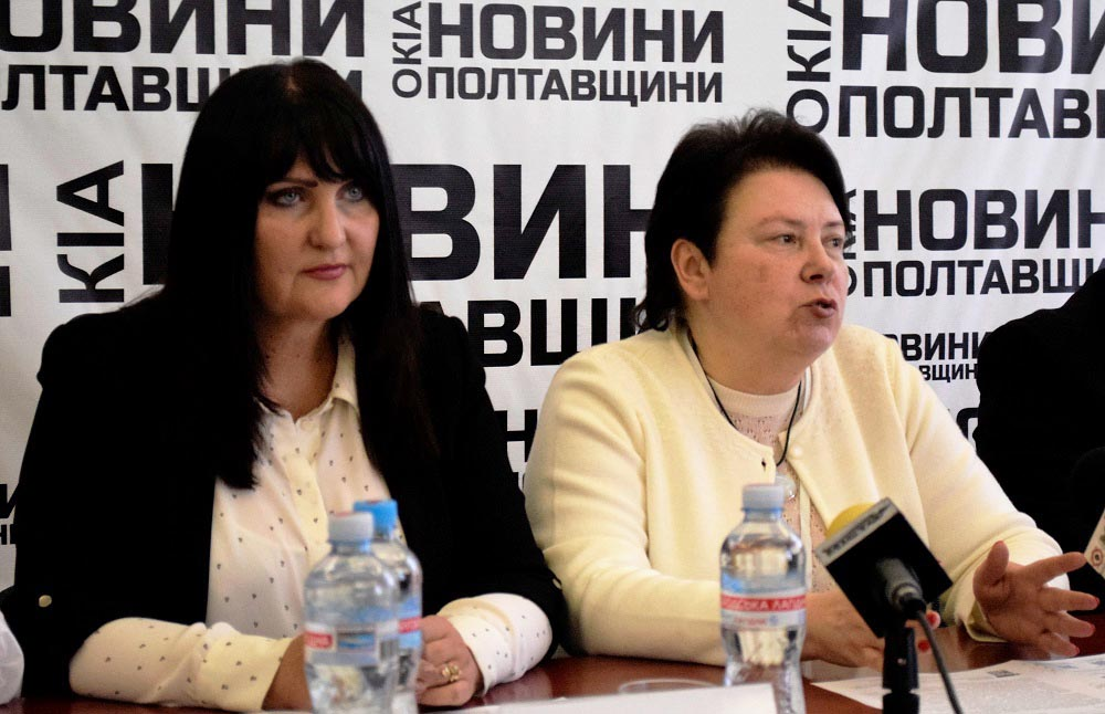 Олена Харченко та Наталія Протасова