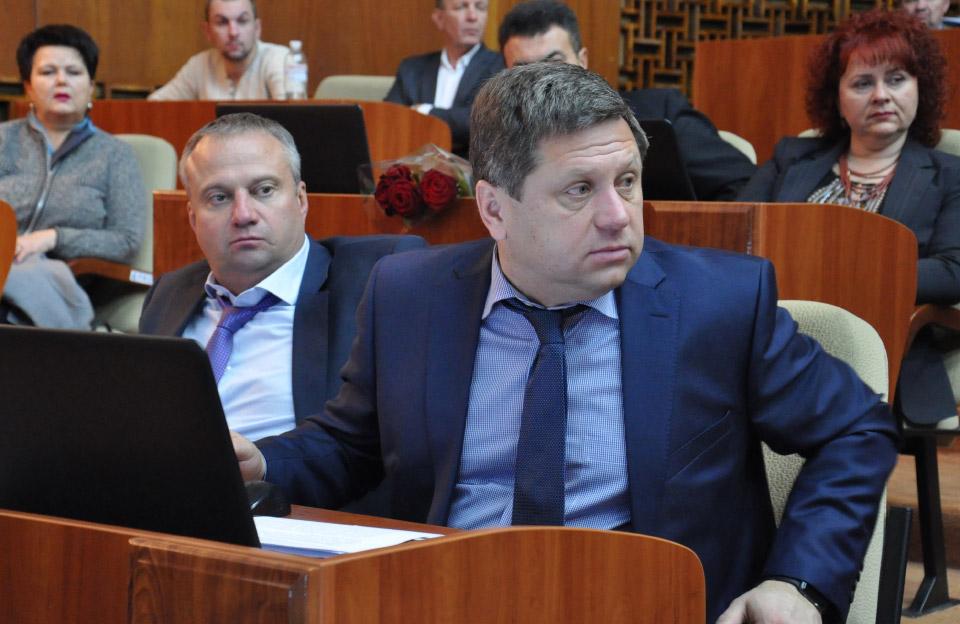 Ігор Сірик та Ігор Горжій — депутати облради, що володіють будівельними компаніями