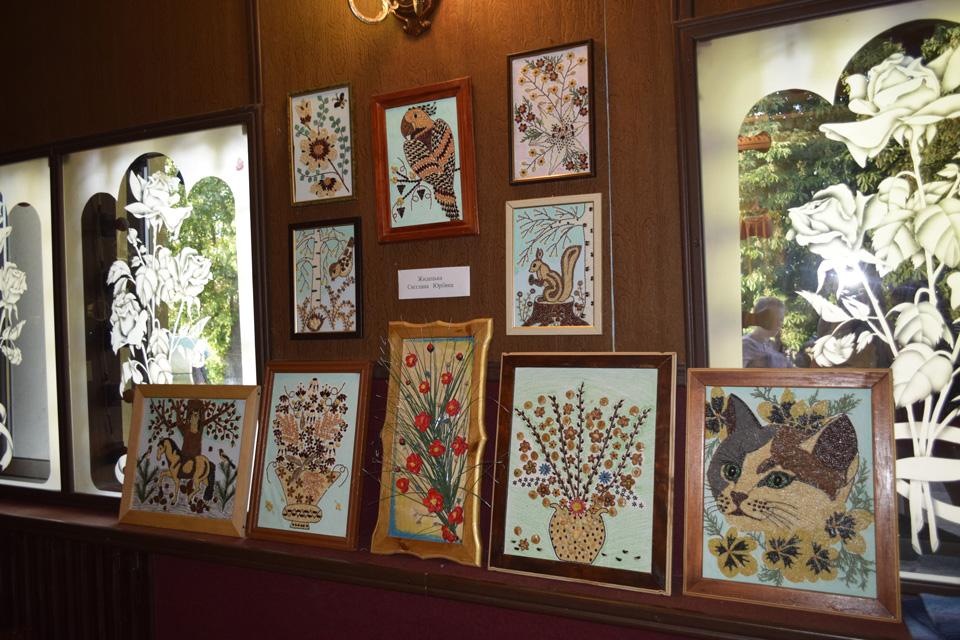 У будинку культури була представлена виставка творчих робіт плосківців4