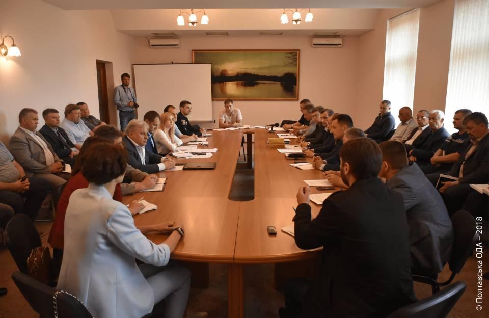 Засідання обласної координаційної ради з питань безпеки дорожнього руху