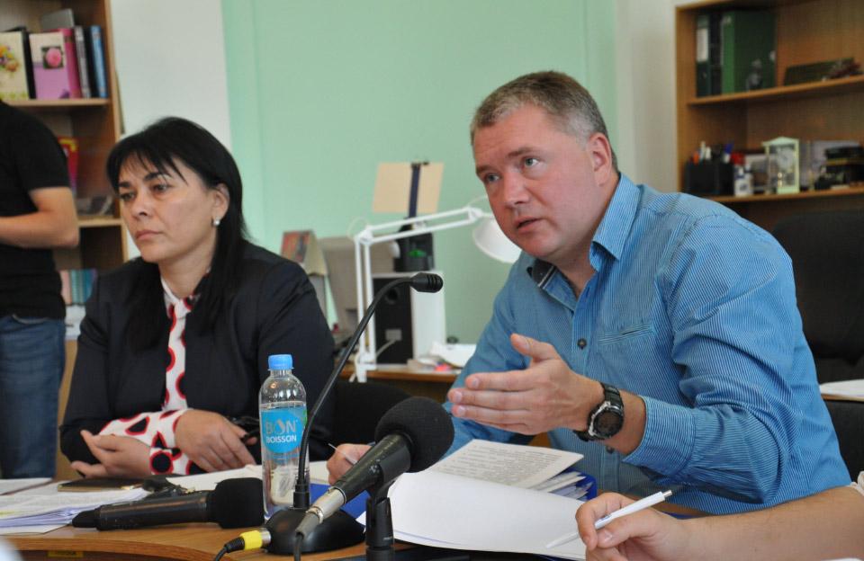 Оксана Деркач та Олег Бєлоножко
