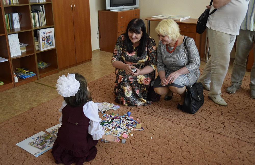 Олена Харченко оглянула заклад, поспілкувалася з педагогами та дітьми