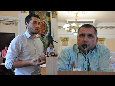 Обговорення питання створення пунктів прийому небезпечних побутових відходів у місті Полтаві