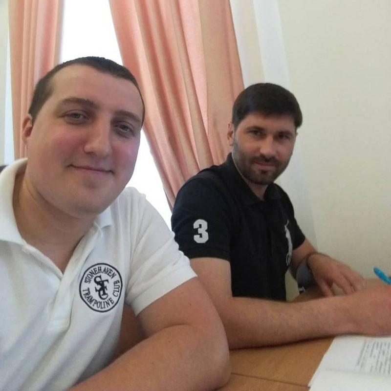 Юрій Синяк та Олександр Кісільов