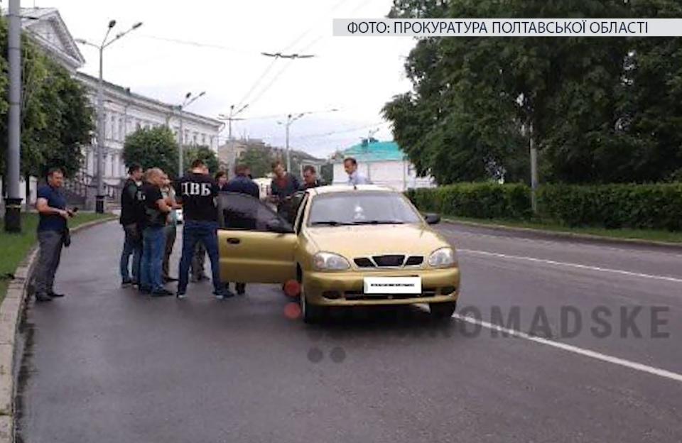 Затримання поліцейських на вул. Соборності