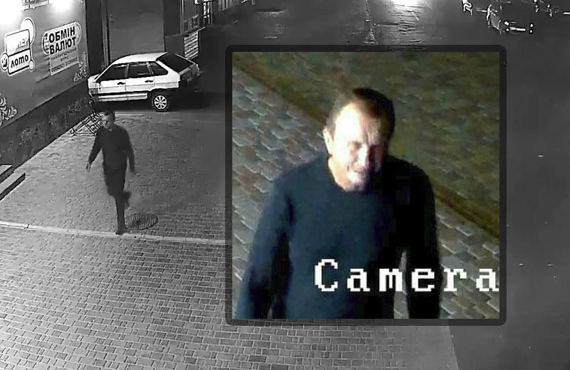 Орієнтування поліції — кадри з камер відеонагляду