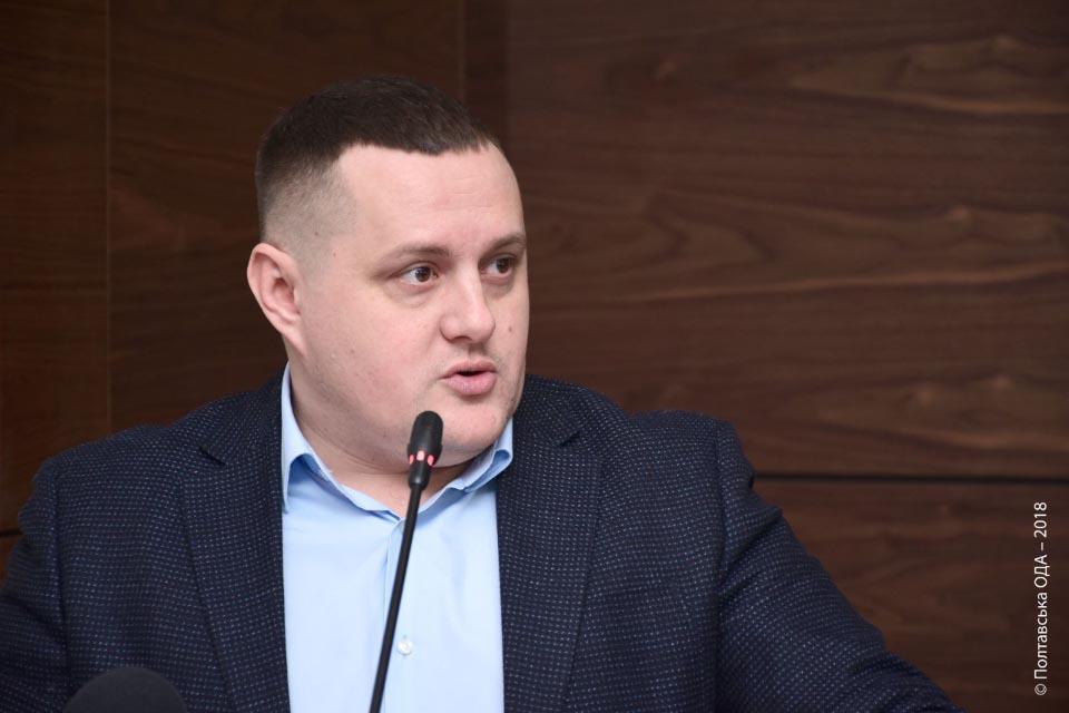 Директор Департаменту будівництва Тимофій Голбан