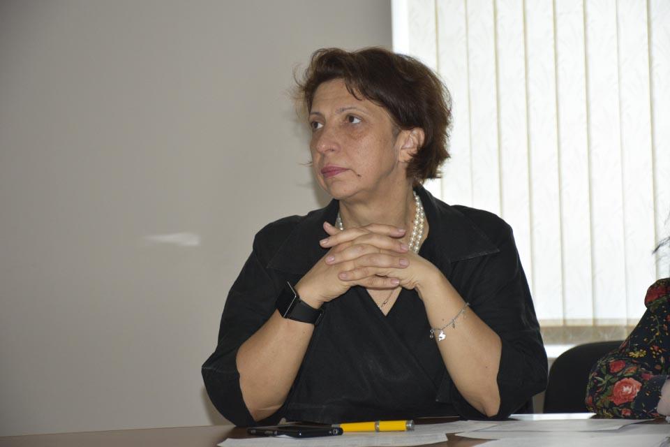 Заступник директора Департаменту будівництва, головний архітектор Полтавської області Ірина Особік