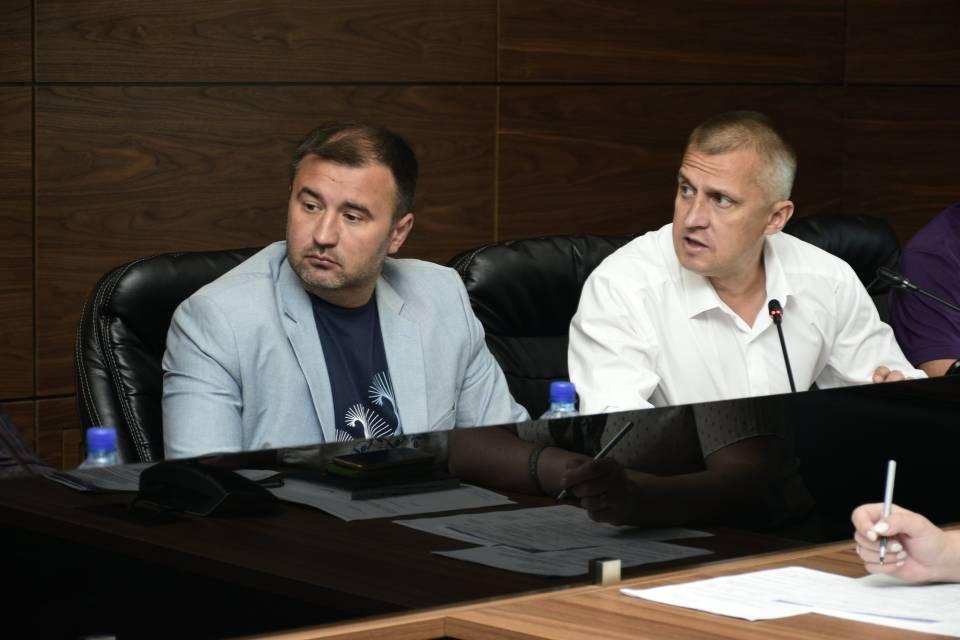 Роман Товстий і Олександр Буцький