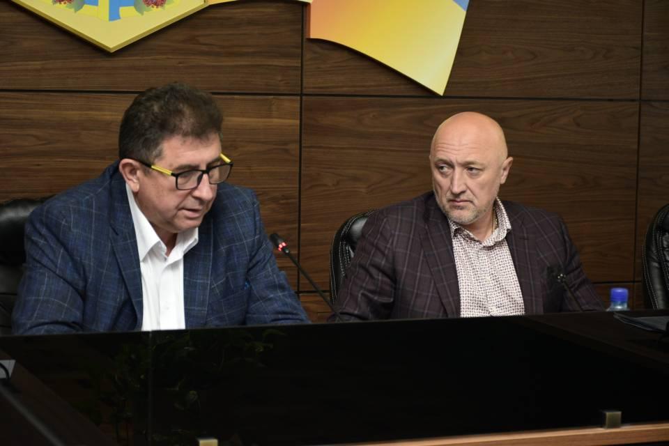 Олександр Удовіченко і Валерій Головко