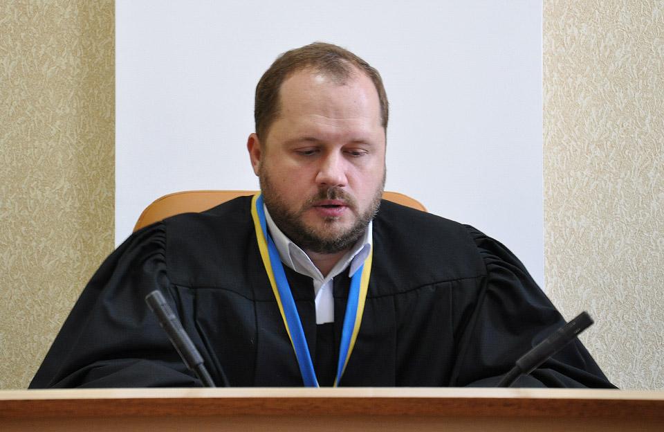 Суддя Євгеній Супрун