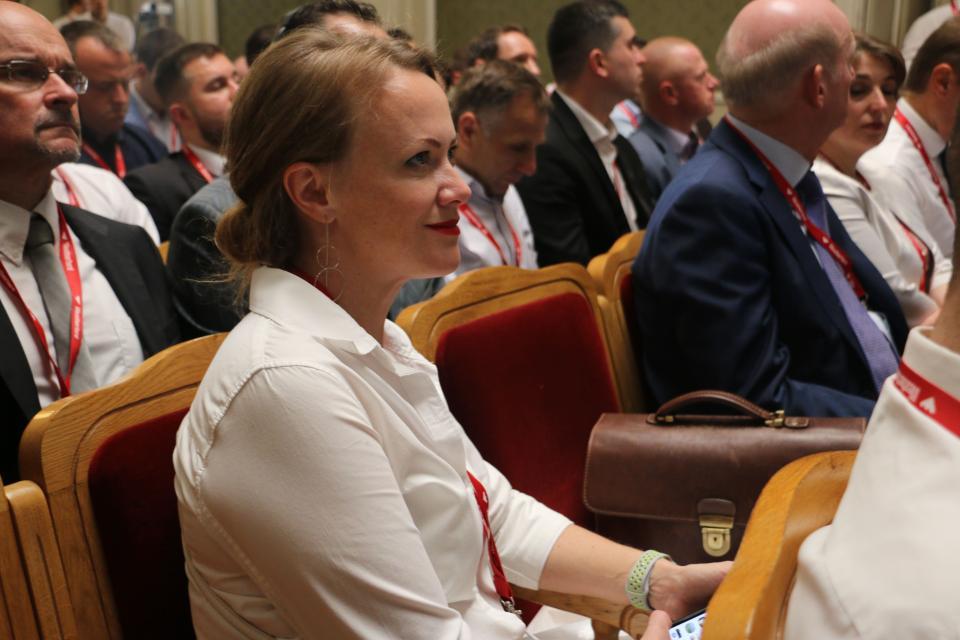 Наталія Рудевич — директор компанії «Weatherford», генерального спонсора конференції