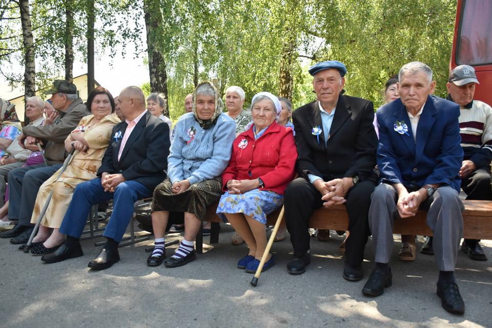 На День родини з усієї області приїхали більше 20 пар із понад 50-річним сімейним «стажем»