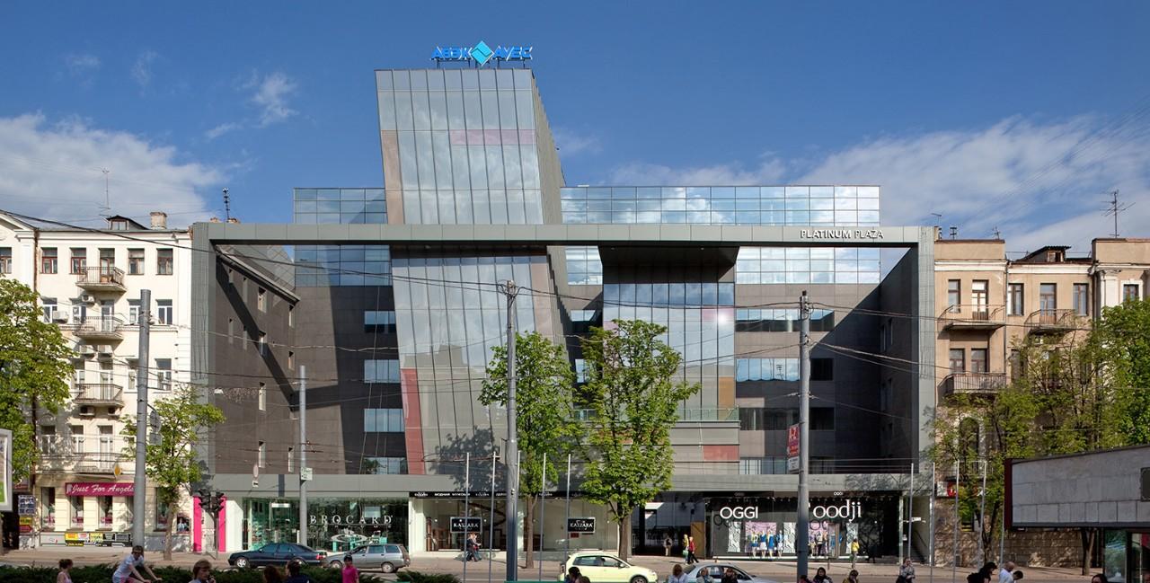 Офісно-торговельний центр Platinum Plaza