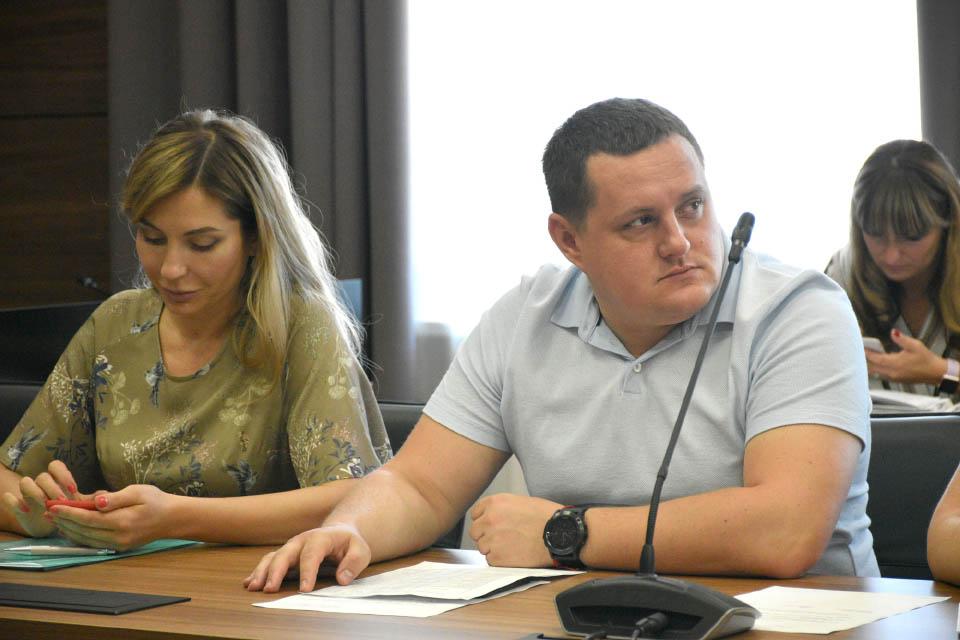 Директор Департаменту будівництва, містобудування та архітектури і ЖКГ Тимофій Голбан