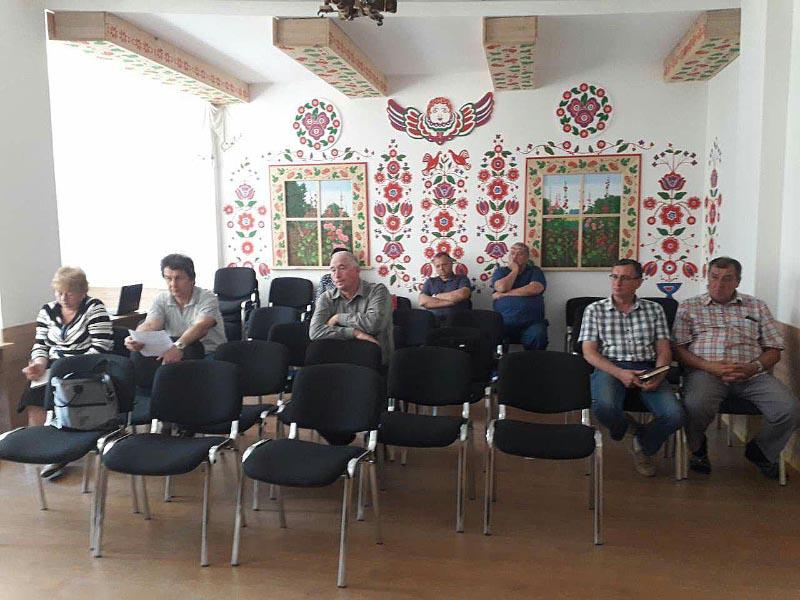 Засідання робочої групи провели у конференц-залі Мачухівського будинку культури