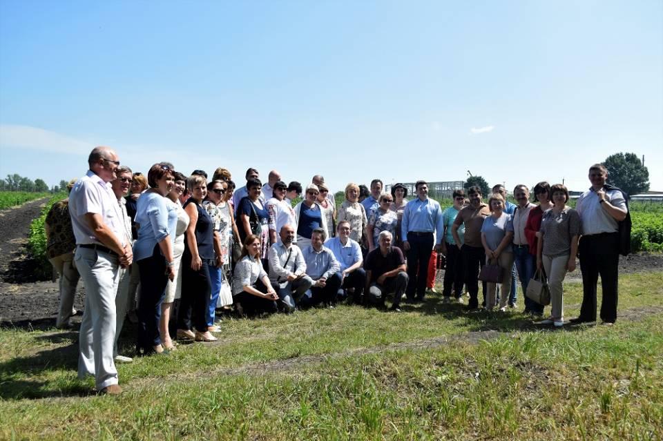 Заключний день семінару-наради з питань розвитку ПТО учасники провели на Решетилівщині