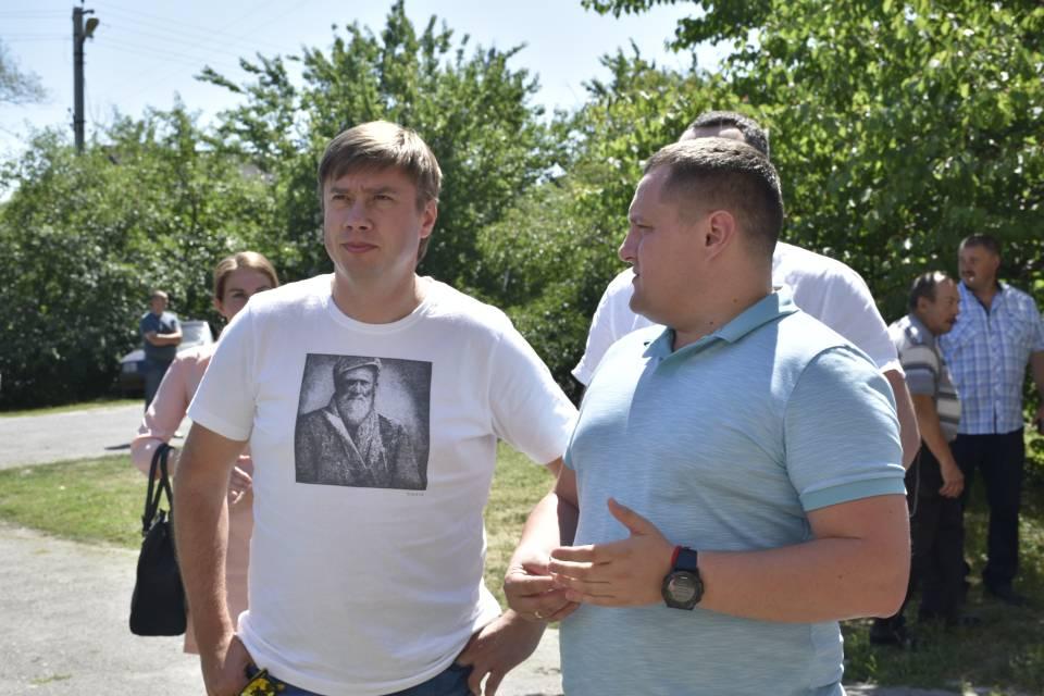 Олександр Біленький та Тимофій Голбан