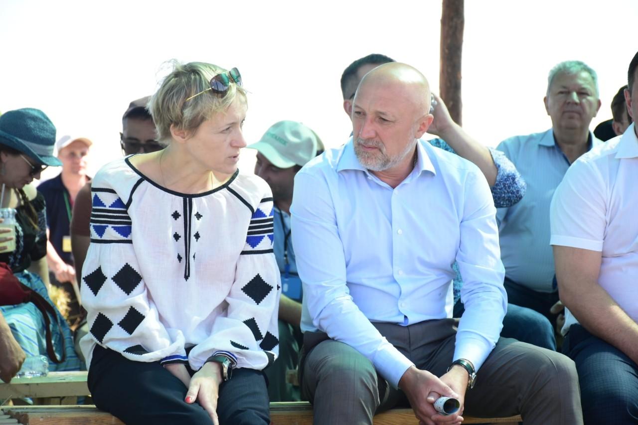 Ольга Трофімцева та Валерій Головко