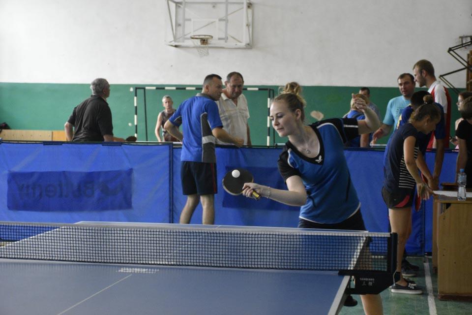 Аліна Шкарбан — чемпіон обласних змагань в Миргороді