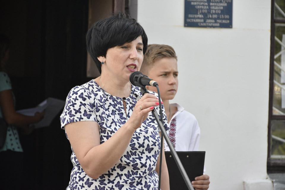 Заступник Щербанівського сільського голови Світлана Мельник