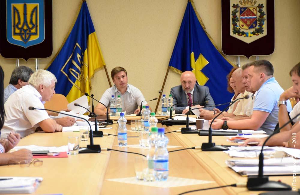 Зустріч керівників департаментів із депутатськими фракціями