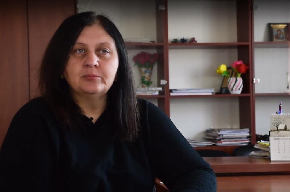 Ковалівський сільський голова Наталія Нос