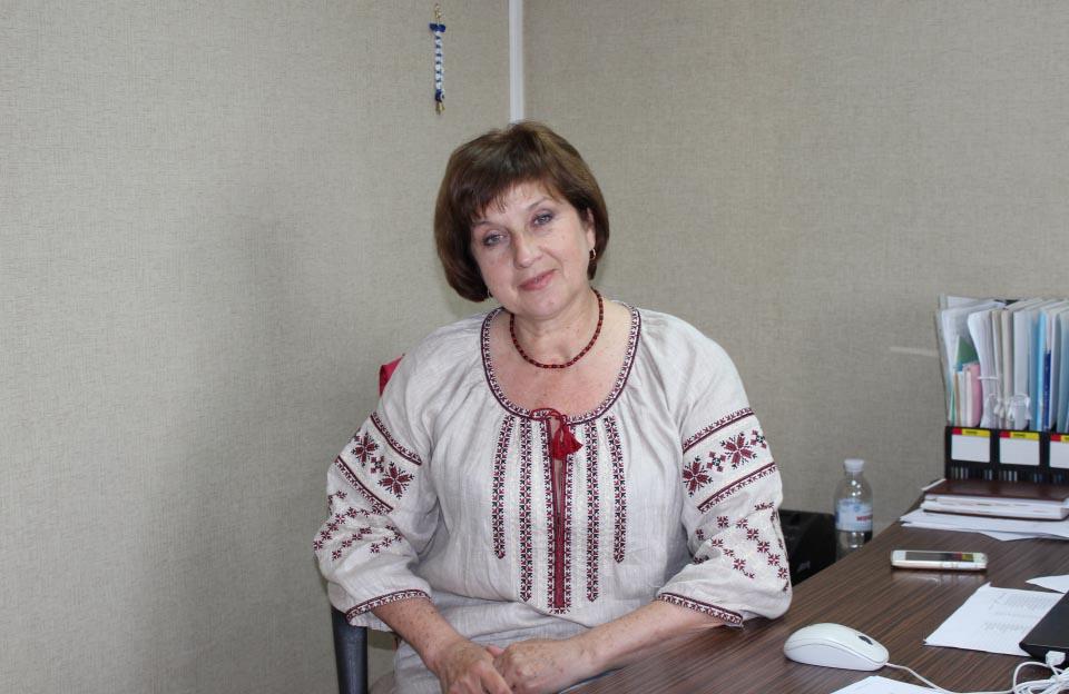 Таіса Горобець, голова профспілкового комітету