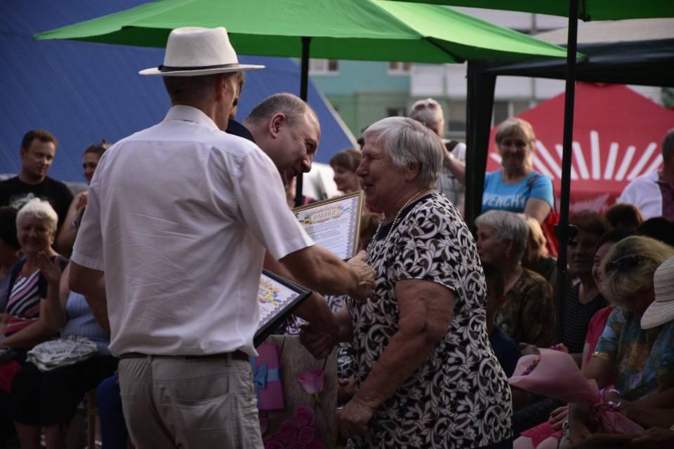 Відбулося урочисте нагородження сімейних пар, котрі прожили разом понад 50 років