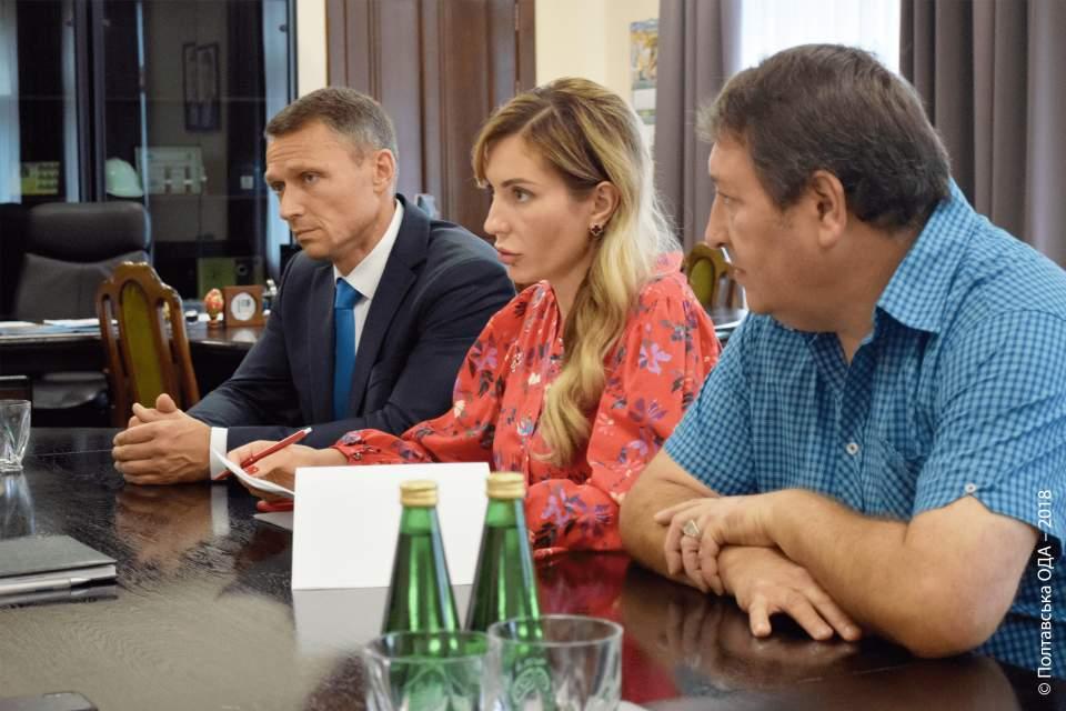 Володимир Рязанов, Інна Іщенко, Віталій Сидоренко (зліва направо)