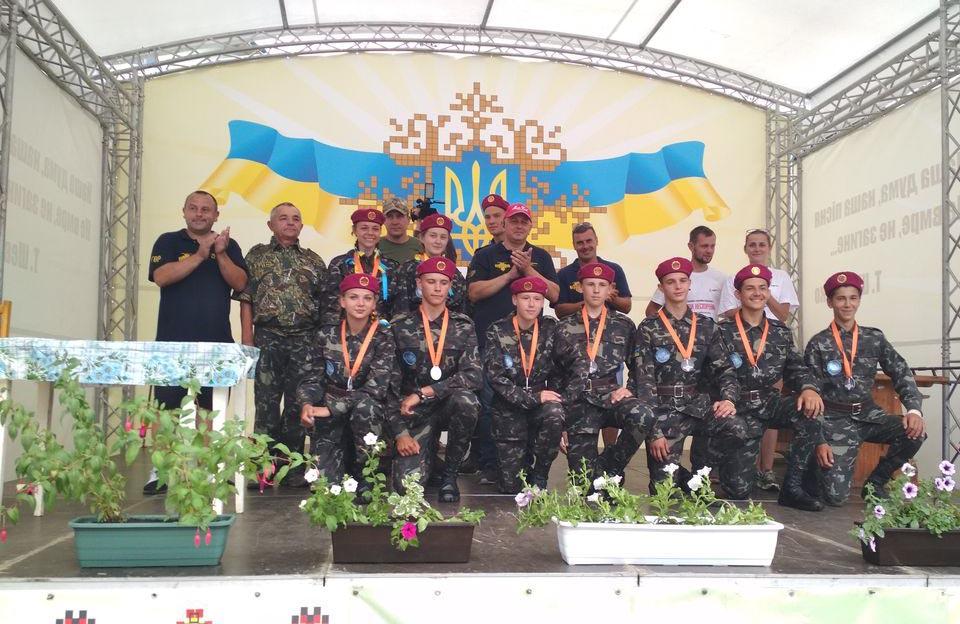 Команда Полтавщини виборола срібло на Всеукраїнській військово-патріотичній грі «Ігри нескорених»