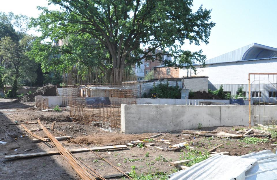 Добудова комплексу для боротьби до ДЮСШ № 3
