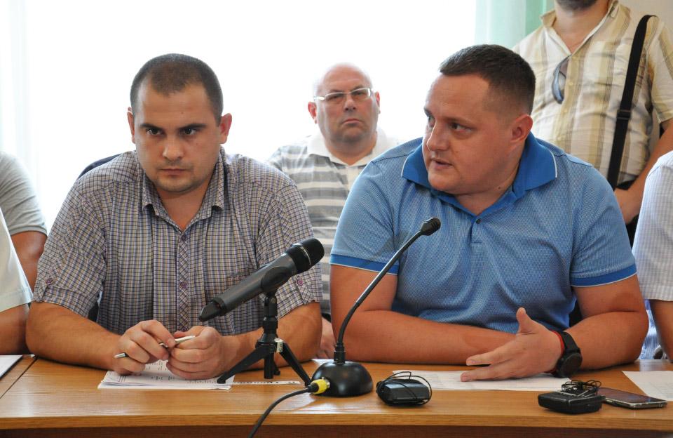 Костянтин Малько та Тимофій Голбан