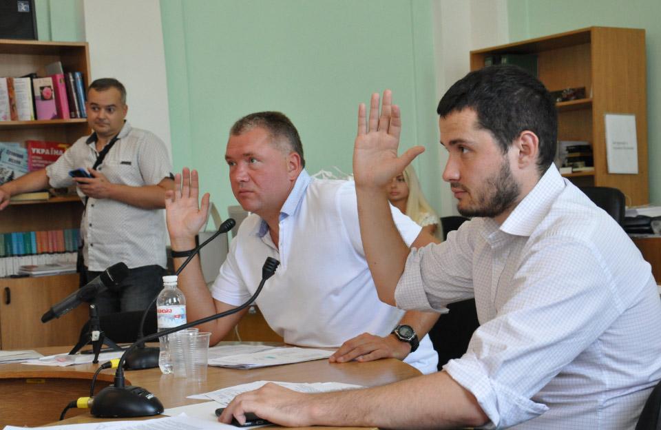 Олег Бєлоножко та Вадим Ямщиков