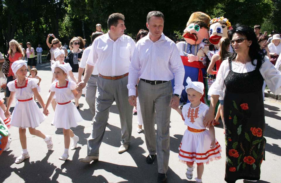 Олександр Удовіченко та Андрій Матковський (червень 2010 року)