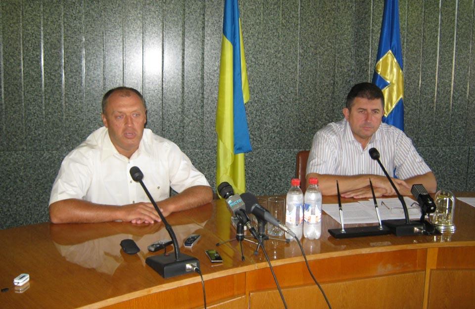 Олександр Мамай та Олександр Удовіченко (серпень 2010 року)