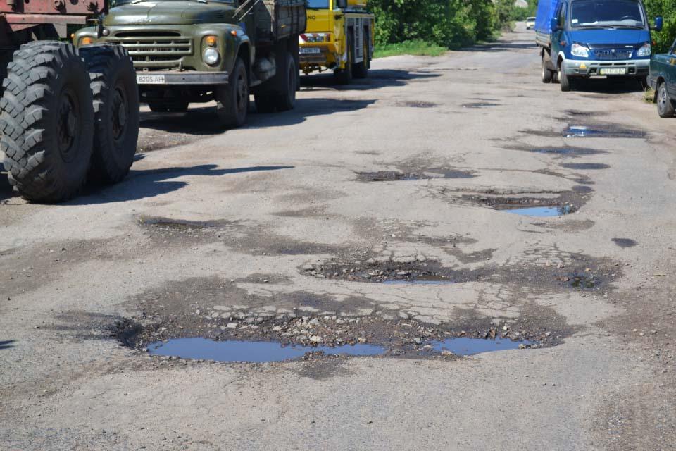 Стан доріг у Черкасівсбкій сільраді
