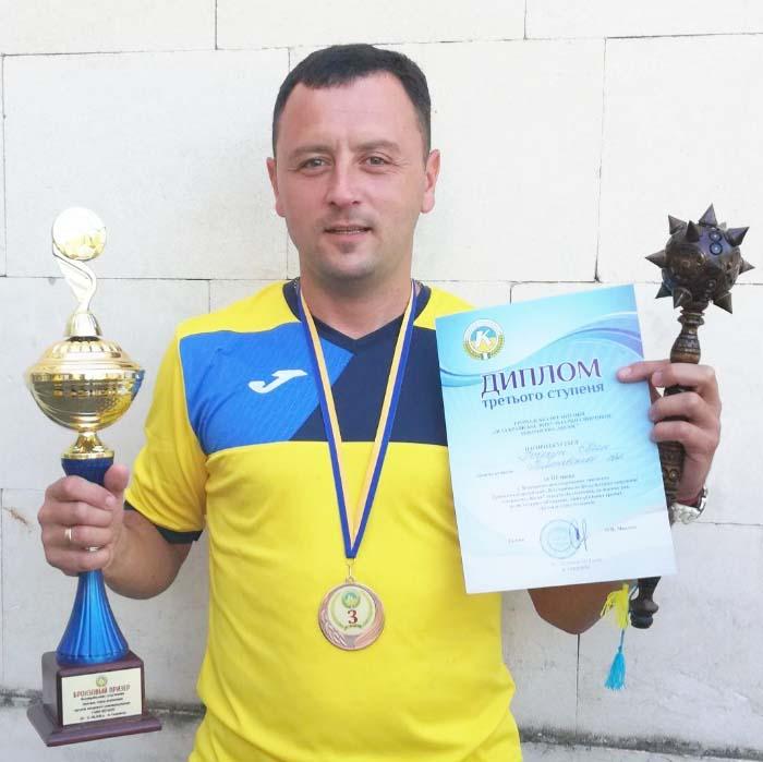 Євген Почечун забезпечив збірній сільських голів Полтавської області ІІІ місце з міні-футболу