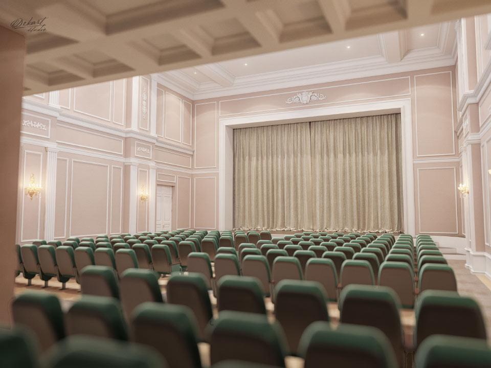Дизайнерський проект залу філармонії