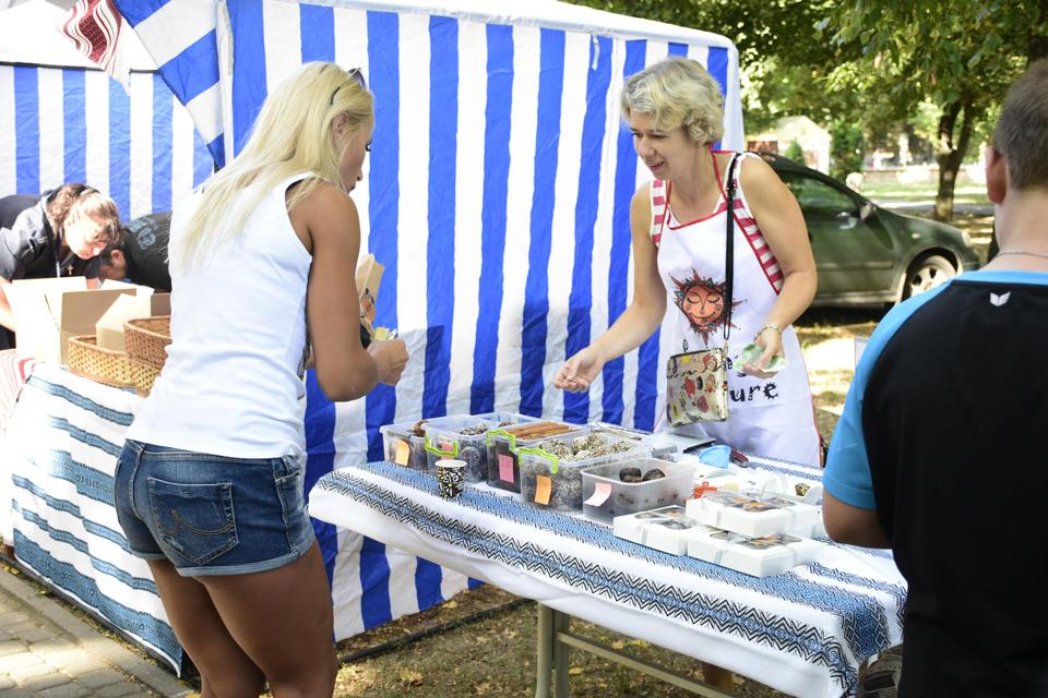Відвідувачі виставки купували товари від полтавських виробників