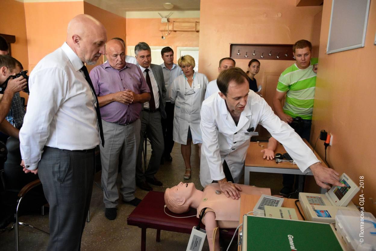 У Новосанжарській центральній районній лікарні