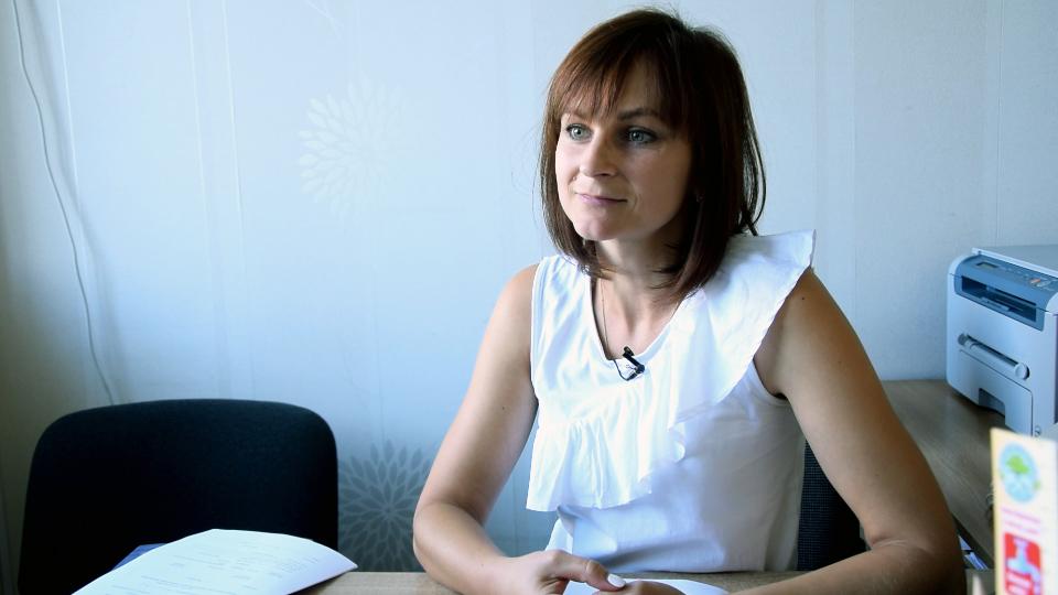 Прес-секретар Департаменту екології та природних ресурсів ПОДА Ірина Лебідь