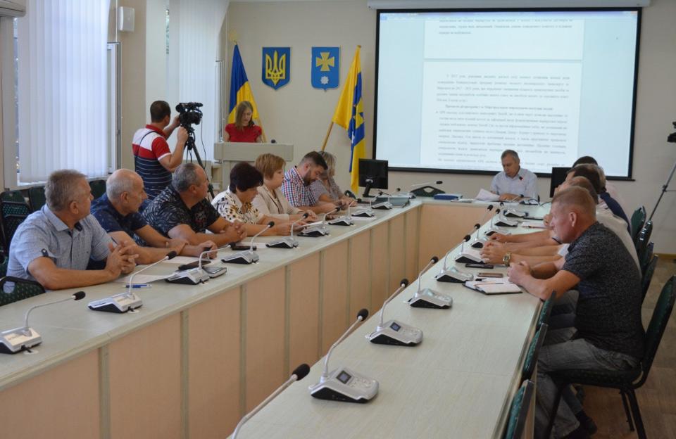 Засідання виконавчого комітету Миргородської райради