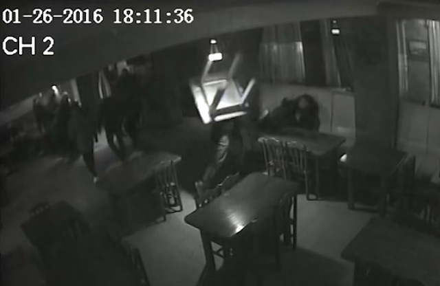 Бійка у кафе «Капкан» 26 січня 2016 року