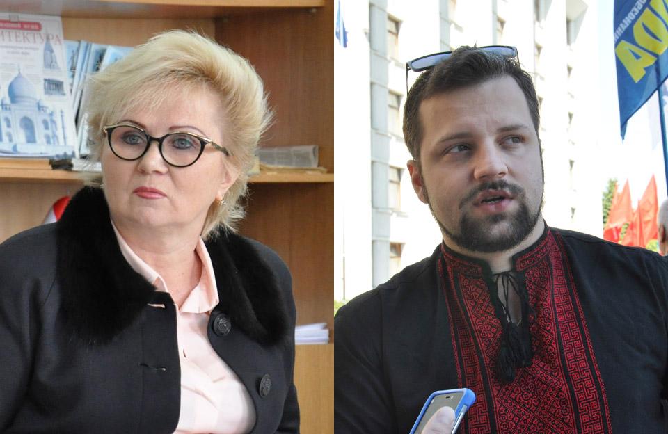 Світлана Нестуля та Юліан Матвійчук