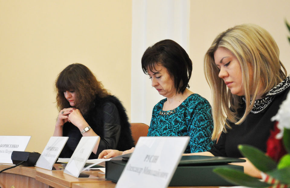 Ольга Борисенко, Світлана Тарашевська та Наталія Сук