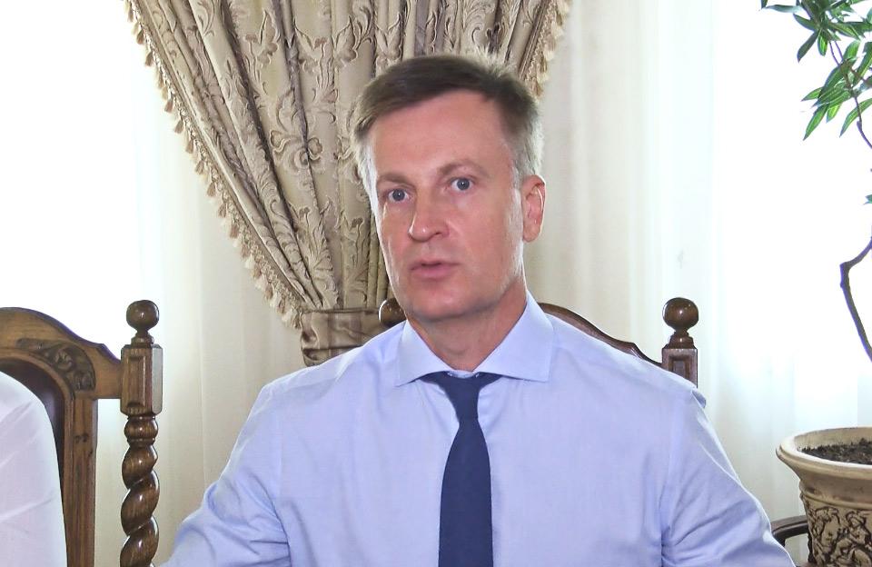 Валентин Наливайченко, лідер Руху «Справедливість»
