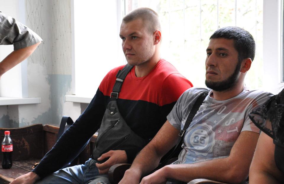 Антон Пазенко та Мустафа Алоєв