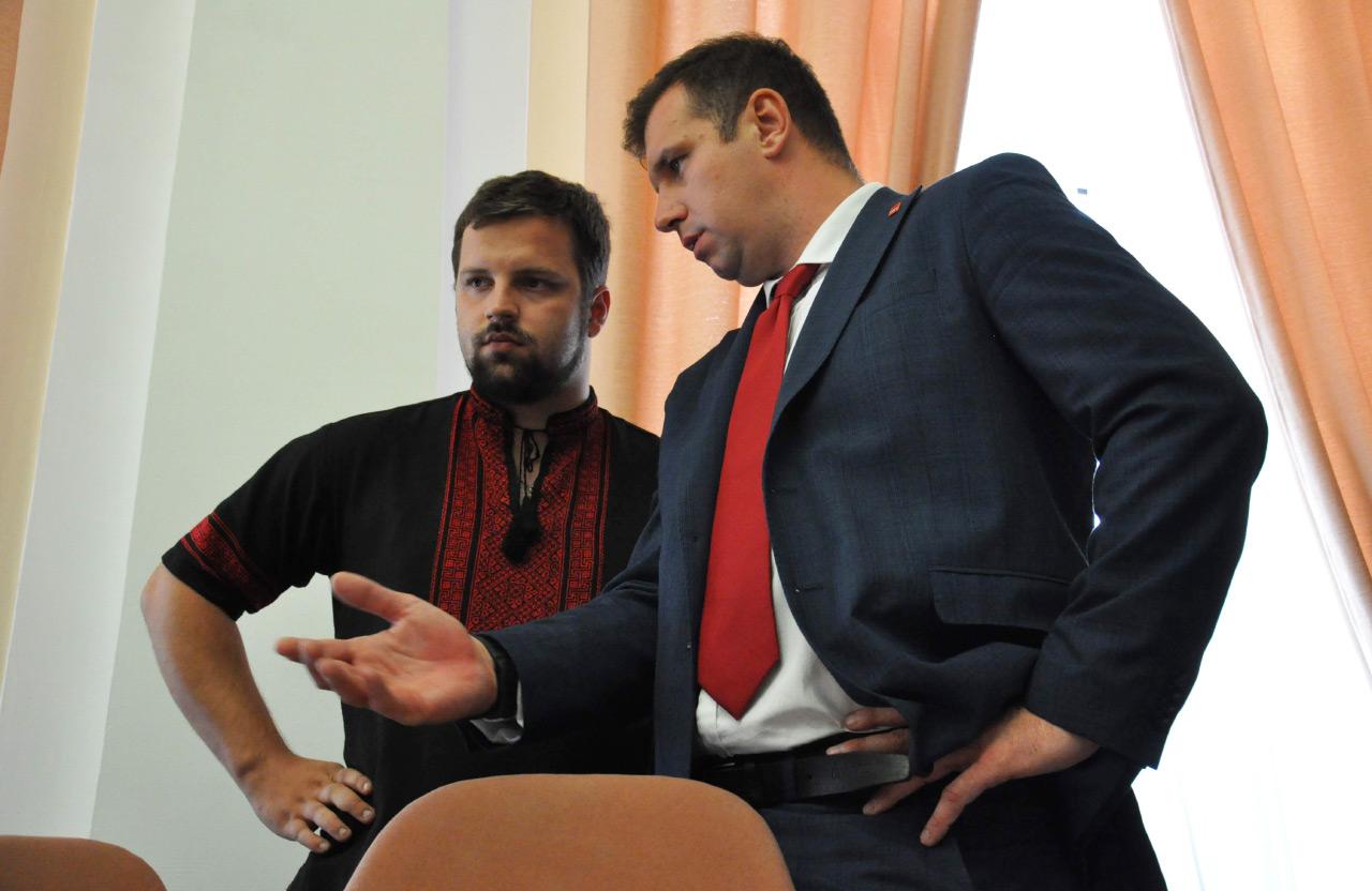 Юлиан Матвийчук и Александр Шамота