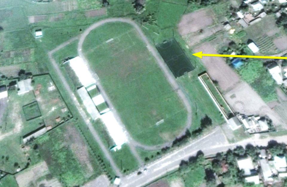 Міні-футбольне поле на вул. Маяковського, 5 у Котельві